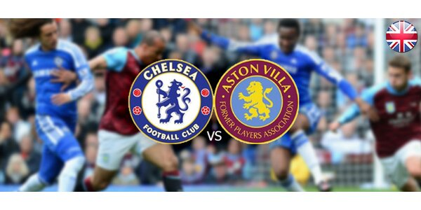 Vstupenka na futbalový zápas Aston Villa vs. Chelsea FC s letenkou a ubytovaním