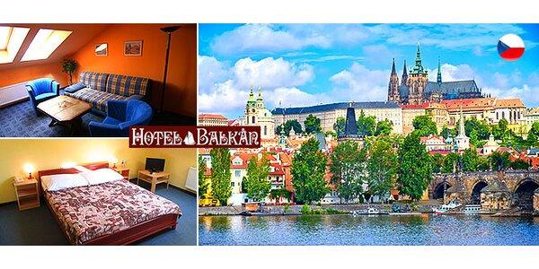 Pobyt pre dvoch v centre Prahy