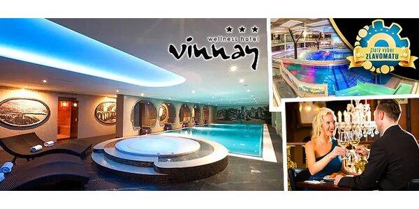 Pohodový wellness pobyt v hoteli VINNAY***