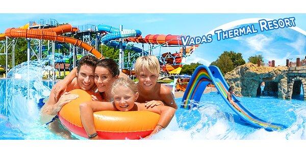 Vadas Thermal Resort: vstup pre 1 či 3 dospelých!