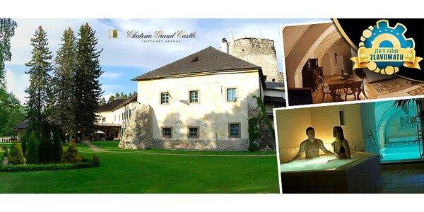 Jarný pobyt v Chateau GrandCastle na Liptove