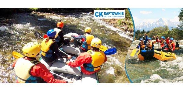 Nezabudnuteľný XXL rafting na rieke Belá