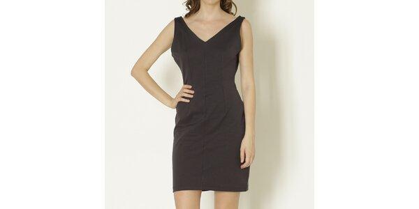 Dámske čierne šaty bez rukávov Keren Taylor