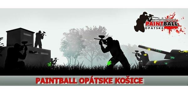 Paintball na tri hod. pre 6 až 16 hráčov (1 kupón = 1 hráč)