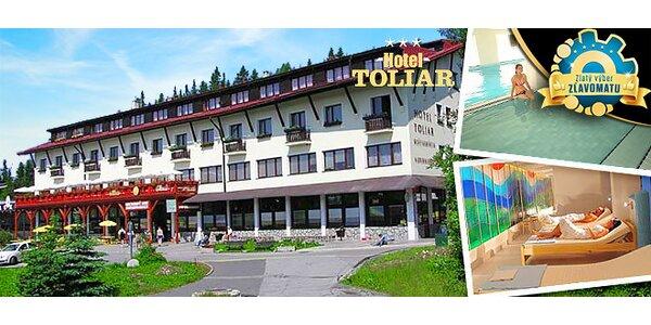 Ak Štrbské Pleso, tak Wellness Hotel TOLIAR***!