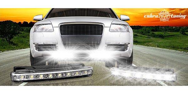 LED svetlá na denné svietenie pre autá