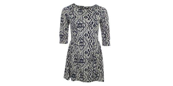 72caa9d20b97 Výpredaj dámskeho oblečenia a doplnkov – všetko skladom. Táto kampaň už  skončila. Dámske vzorované šaty Iska