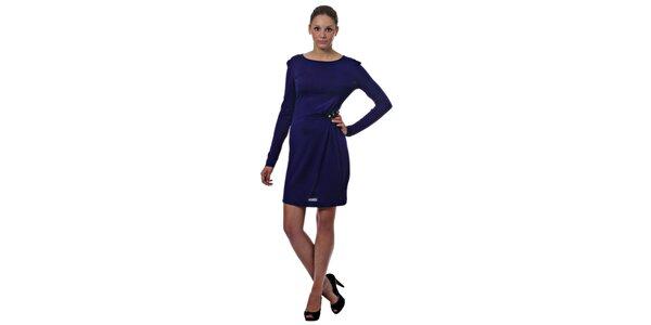 Dámske tmavo modré šaty Miss Sixty