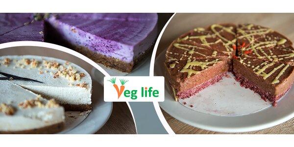 Ochutnajte nové zdRAWé dezerty vo VEG LIFE