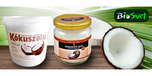 Zázrak z prírody: BIO kokosový olej