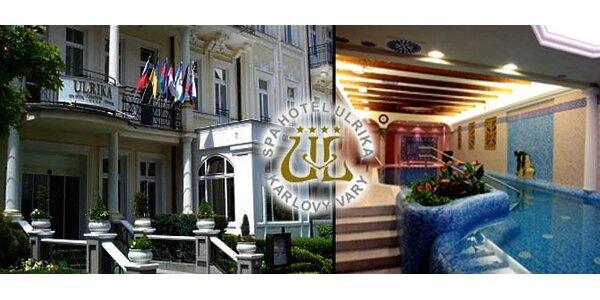 165 eur za 3 dňový pobyt pre DVOCH v SPA hoteli Ulrika**** v srdci KARLOVÝCH…