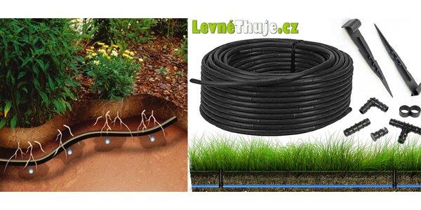 Samozavlažovacia hadica pre vašu záhradu