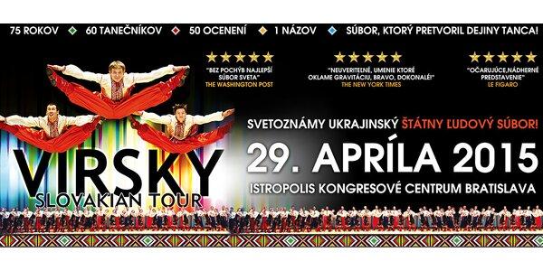 Ľudový tanečný súbor VIRSKY – Slovakian Tour