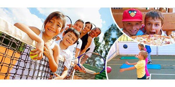 Denný tenisový tábor pre deti