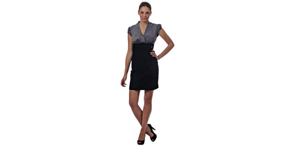 Dámske dvojfarebné mini šaty Miss Sixty