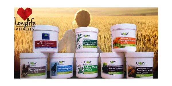 Hojivé UW krémy - 4x 250 ml podľa výberu - pomoc pri problémoch so svalmi či…