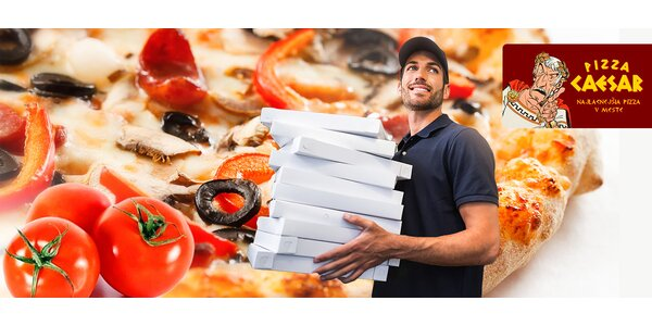 Chutná pizza pohodlne až priamo k vám domov
