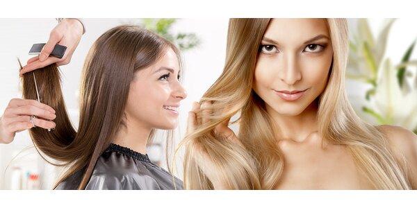 Krásne lesklé a zdravé vlasy