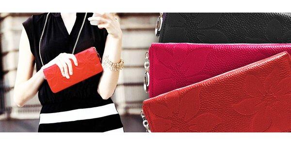 Krásne peňaženky pre dámske poklady
