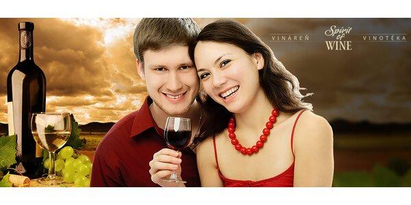 Degustačný večer so someliérom - 8 druhov vína