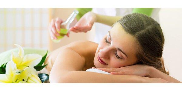 Bankovanie či upokojujúca masáž podľa výberu