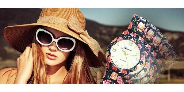 Štýlové dámske hodinky v 4 rôznych farbách