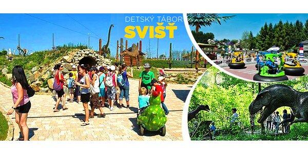 Obľúbený detský tábor DINOLANDIA 2015 Tatry