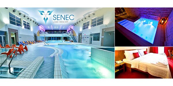 Wellness & Aquapark v Hoteli Senec Lake Resort****