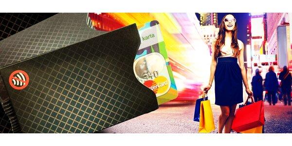 Ochranný obal na bezkontaktnú kreditnú kartu