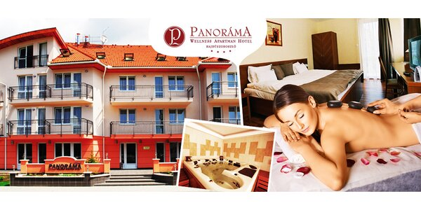 Relax pobyt v Panoráma Wellness Apartman Hotel****