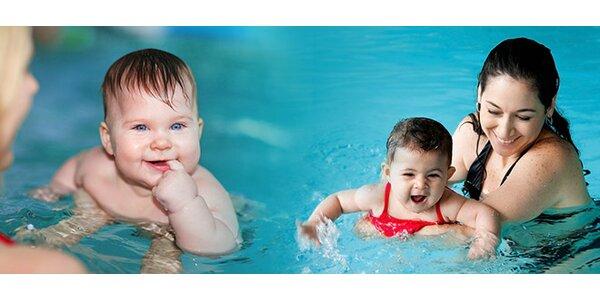 Kurz plávania pre bábätká
