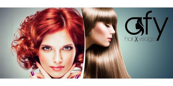 Nové vlasy s hĺbkovou regeneráciou a botoxom