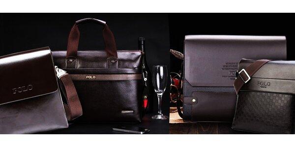 5 značkových tašiek pre mužov so štýlom