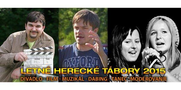 Detský herecký tábor so slávnymi osobnosťami!