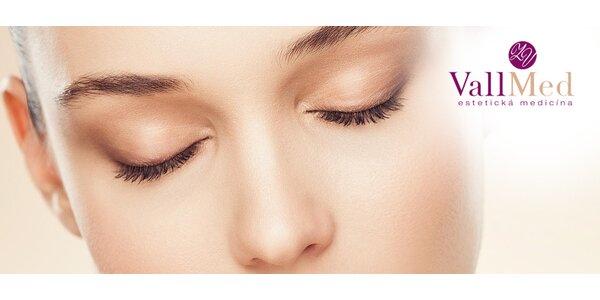 Komplexné ošetrenie očného okolia