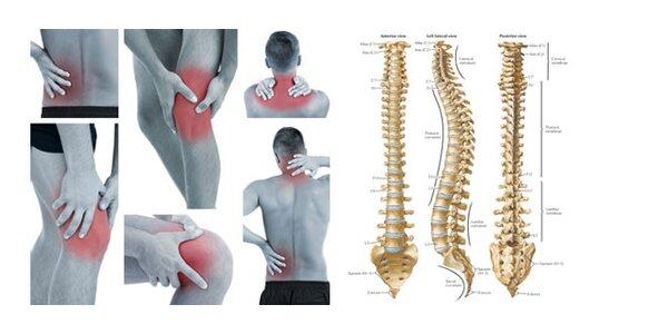 Náprava chrbtice a kĺbov Dornovou metódou a iné