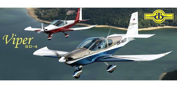 Zoznamovací let lietadlom s možnosťou pilotovania