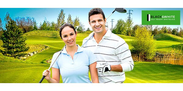 Golf, tréning golfu s trénerom alebo tenis