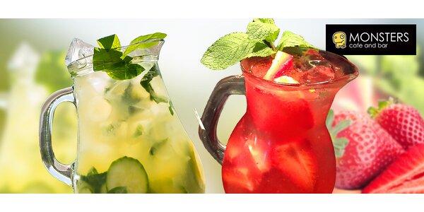 Osviežujúce limonády v Monsters Cafe and Bar