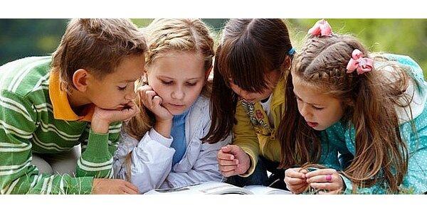 Detský dramatický tábor s angličtinou