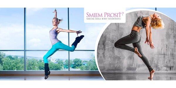 Hodina salsy alebo dance bodyformingu
