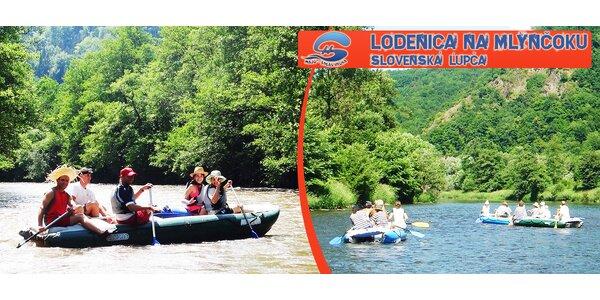 Splav Hrona pre 2, 4 alebo 6 ľudí na rafte či kanoe