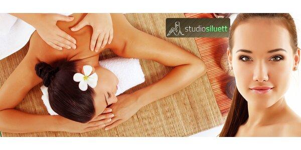 Klasická masáž chrbta a šije alebo celotelová
