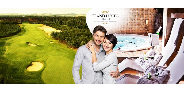 Romantika a golf v Grand Hotel Senica***