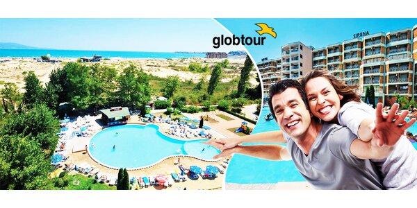 10 dní na Slnečnom pobreží v Bulharsku