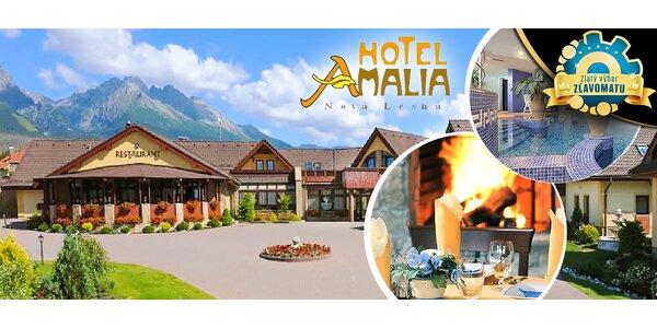 Wellness pobyt pre dvoch v Hoteli AMALIA***+