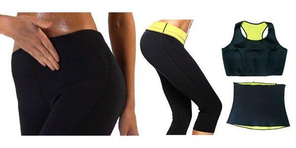 Neoprénový pás na chudnutie, nohavice a tielko
