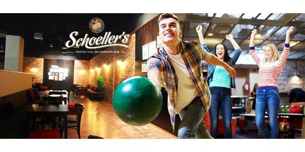Hodina bowlingu pre 1 až 8 osôb
