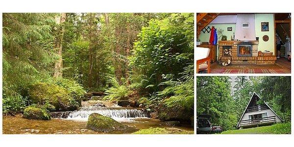 Zažite relax v Nízkych Tatrách na Chate pri potoku-Krpáčovo