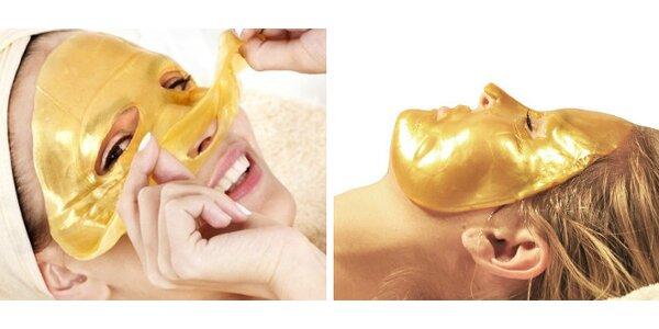 Kolagénové masky na tvár GOLD 24K